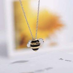 Cheap pendants for women, Buy Quality bee necklace directly from China necklaces & pendants Suppliers: Flyleaf 925 Sterling Silver Cute Bees Necklaces & Pendants For Women High Quality Lady Sterling-silver-jewelry Collares Mujer Bee Necklace, Engraved Necklace, Onyx Necklace, Necklace Charm, Mens Silver Rings, Sterling Silver Necklaces, Silver Choker, Silver Earrings, Silver Bracelets