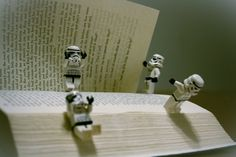 Stormtrooper Adventures - Reading or Playing?