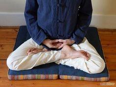 zabuton para meditación (zafu, meditacion)