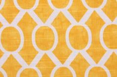 Premier Prints Sydney-Slub Drapery Fabric in Corn Yellow $8.95 per yard - Fabric Guru.com