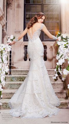 Moonlight Couture Spring 2016 Wedding Dresses | Wedding Inspirasi