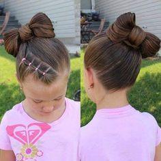 Simple hairstyle for kids, best kids hairstyles, easy kids hairstyles, cute hairstyles for Little Girl Hairdos, Lil Girl Hairstyles, Girls Hairdos, Easy Hairstyles For Kids, Princess Hairstyles, Trendy Hairstyles, Braided Hairstyles, Short Haircuts, Little Girl Bangs
