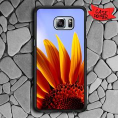 Sun Flower Samsung Galaxy S6 Edge Black Case