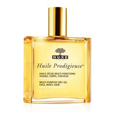 Buy NUXE Dry Oil Huile Prodigieuse® Spray Bottle, from our Body Care range at John Lewis & Partners. Skincare For Oily Skin, French Skincare, Borage Oil, Camellia Oil, Macadamia Oil, Spray Bottle, Face And Body, Body Care, Serum