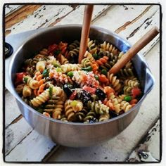 Just Cooking: Romano Cheese Pasta Salad