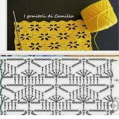 Crochet Heart Blanket, Baby Afghan Crochet Patterns, Crochet Stitches Chart, Crochet Motifs, Crochet Square Patterns, Crochet Diagram, Filet Crochet, Knitting Designs, Knitting Patterns