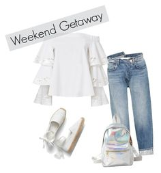 """weekend getaway"" by lejlaa-limic ❤ liked on Polyvore featuring Monse, Exclusive for Intermix, Charlotte Russe and Trendy"