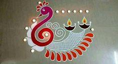Rangoli Designs For Diwali Rangoli Designs For Diwali Rangoli Designs Peacock, Easy Rangoli Designs Diwali, Rangoli Simple, Indian Rangoli Designs, Rangoli Designs Latest, Simple Rangoli Designs Images, Rangoli Border Designs, Colorful Rangoli Designs, Rangoli Ideas