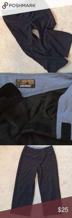 🌿Patagonia Capri-Pataloha Pants🌿 🌿Patagonia..NWOT...Pataloha series..Velcro front instead of a zipper.. Small slits at bottom..Very soft-100% polyester..🌿 Patagonia Pants Ankle & Cropped