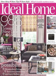 Ideal home uk october 2015
