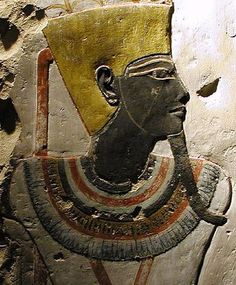 King Tuthmosis III Dynasty This relief comes from the Temple of King Tuthmosis at Deir el Bahari. It is now being housed at the Luxor Museum in Egypt. Egyptian Kings, Ancient Egyptian Art, Ancient History, Luxor, Kemet Egypt, African History, Gods And Goddesses, Ancient Civilizations, Archaeology