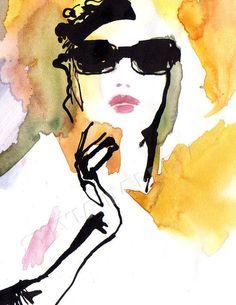 Fashion illustration Illustration de mode