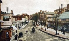 The High Street in this undated picture.