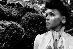 Cover Story: Janelle Monáe   Features   Pitchfork i like the saturation & desaturation of the image
