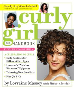 Curly Girl - Enhanced Ebook Edition: The Handbook  ($3.04) http://www.amazon.com/exec/obidos/ASIN/B003YL4KS0/hpb2-20/ASIN/B003YL4KS0 This is a very informative book. - So if you're looking to embrace your curls and how to get them looking their best, this is a great way to begin. - It is really helpful on how to care for curly hair.