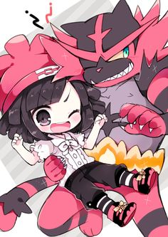 Incineroar and his little trainer Pokemon Incineroar, Pokemon Moon, Black Pokemon, Pokemon Ships, Pokemon Fan Art, Pokemon Stuff, Anime Fnaf, Anime Chibi, Venom Comics