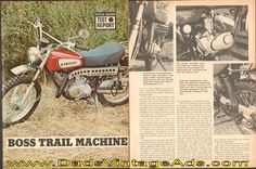 1975 KAWASAKI G5 VINTAGE MOTORCYCLE AD POSTER PRINT 27x36 9MIL PAPER