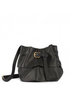 Lupo Barcelona - Isadora Small Black #botd #spanishdesign #fashion #accessories #chic #handbag #barcelonastyle #blackleather