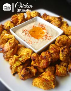 Paleo Chicken Shawarma