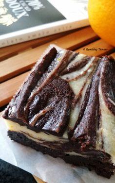 Rumbling Tummy: Orange Cheesecake Brownie