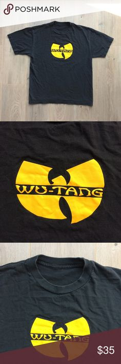 "90's Wu-Tang Clan Raekwon Rap Hip-Hop T-Shirt 90's Wu-Tang Clan Raekwon Rap Hip-Hop T-Shirt   Great Pre-Owned Condition Men's M/L  Measures (laying flat):   20"" Chest,   26"" Length Vintage Shirts Tees - Short Sleeve"