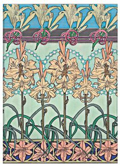Tiger Lily - part of Paperblanks' Mucha collection of writing journals
