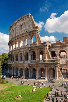 Con casi 2000 años de historia, el Coliseo acapara la mayoría de las fotografías de Roma.