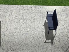 """Introducing """"Art"""" from the Gallery 2CM collection! Gallery blends the timeless look of Terrazzo with the modern benefits of porcelain. Gallery 2CM is 3/4"""" thick and is available in three colors and two sizes. #florim #outdoor #outdoortile #flooring #slabs #pavers #terrazzo #porcelain #porcelaintile"""