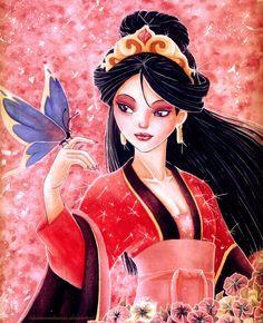 Mulan by BlueMoonDesuuu.deviantart.com on @DeviantArt