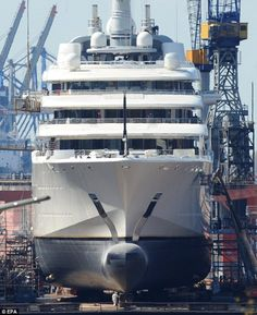 eclipse yacht at new york | ... 5bn yacht Eclipse (above, file picture) in New York ahead of the birth