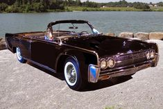 1963 LINCOLN CONTINENTAL CONVERTIBL - Barrett-Jackson Auction Company - World's Greatest Collector Car Auctions