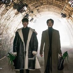 When Goblin and Grim Reaper shop together  gong yoo | lee dong wook | goblin | korean drama |