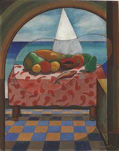 'Trópico hacia el mar (Varadero)' by Domingo Ravenet, 1941