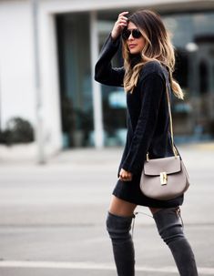 32 Last Minute Easy Thanksgiving Outfit To Perfect Your Style – Daily Fashion Trendy Outfits, Fashion Outfits, Womens Fashion, Black Outfits, Fashion Sets, Fashion Styles, Thanksgiving Fashion, Street Looks, Street Style