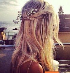 hippie hair .. love!