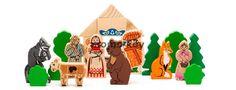 Деревянный набор конструктор «Аленушкины сказки» 3 в 1