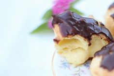 These may becute and round but the flavors are seriously top-notch and traditional. And the most amazingly rich custard pastry cream fills these beauties. They're actually simple to make too…