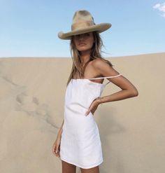 Little white dress #style
