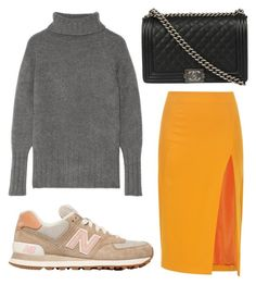 A fashion look from February 2016 featuring chunky sweaters, slit skirt and canvas sneakers. Browse and shop related looks. Dares, New Balance, Women's Clothing, Chanel, Shoe Bag, Clothes For Women, Woman, Female, Sexy