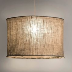 Linen pendant shade (could easily DIY) Decor, Lamp Shade, Lamp, Linen Lights, Home Decor, Home Lighting, Home Deco, Light Fittings, Diy Lighting