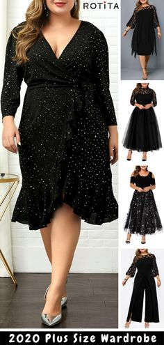 Maybe you don't like me, but I am very satisfied with myself.For every curvy girl. Plus Size Cocktail Dresses, Plus Size Party Dresses, Black Party Dresses, Curvy Fashion, Plus Size Fashion, Fashion Beauty, Girl Fashion, Vintage Style Dresses, Elegant Dresses