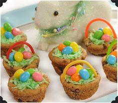 Cupcakes con ovetti di pasqua!