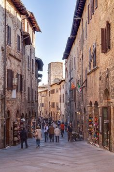 The historic centre of San Gimignano, UNESCO World Heritage Site, Tuscany, Italy, Europe
