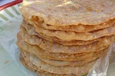"Get Cinnamon-Sugar Crisps (""Bunuelos"") Recipe from Food Network Mexican Cooking, Mexican Food Recipes, Dessert Recipes, Mexican Desserts, Diet Desserts, Dessert Ideas, Mexican Bread, Mexican Dishes, Mexican Sweet Breads"