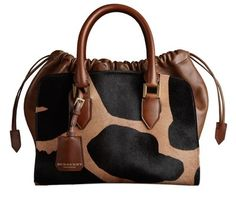 Burberry Animal Print Bag