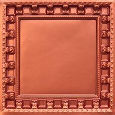 """Decorative Ceiling Tiles, Inc. Store - Parthenon - Faux Tin Ceiling Tiles - Drop In - 24""""x24"""" -"""