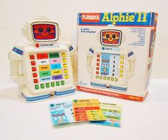 I totally had this! ll Playskool - 4 double-sided cards - Vintage 1985