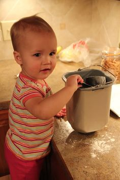 our simple life: baker in training