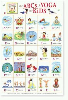 The ABC's of yoga!