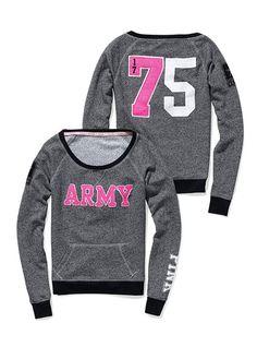 PINK army sweats :)